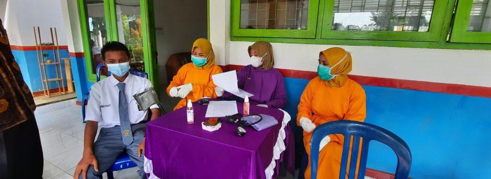 Vaksinasi Masal SMAN5 TEBO